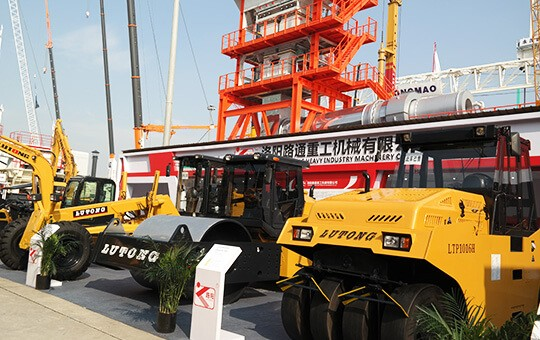 Our company join BAUMA exhibition in Shanghai China